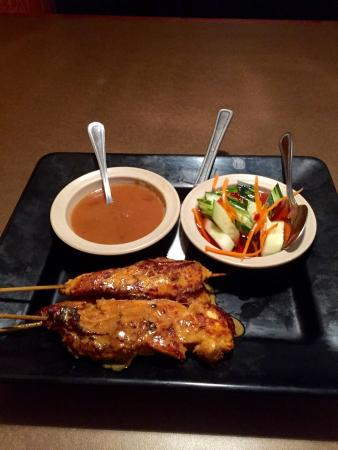 Thai Thai Cuisine: Very good satay!!
