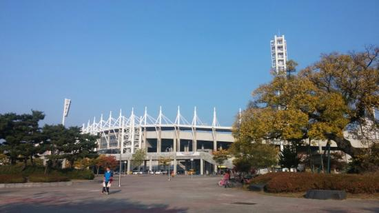 Cheonan, كوريا الجنوبية: Football court &volleyball court