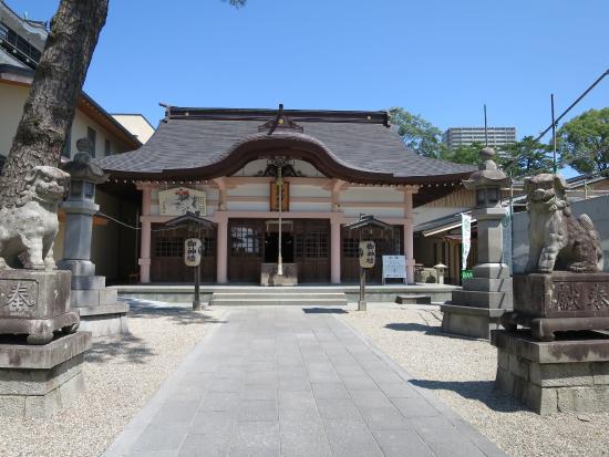 Tatsuki Shrine: 拝殿