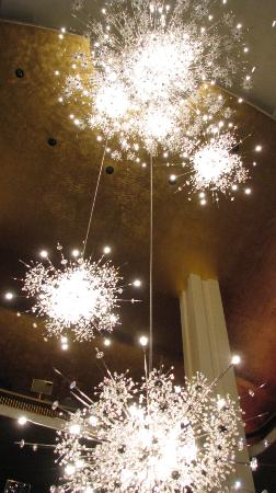 starbursts of light in chandeliers picture of the metropolitan