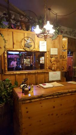 Cowboy Express Steak House : This is where the waitress will meet you.