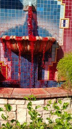 fountain of blood for fright fest picture of six flags over texas rh tripadvisor com