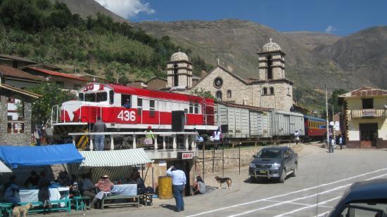 Tren Macho. Huancavelica