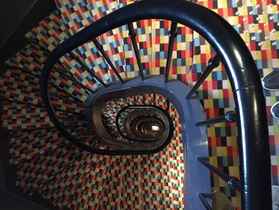 Hotel Bastille Speria : Staircase.