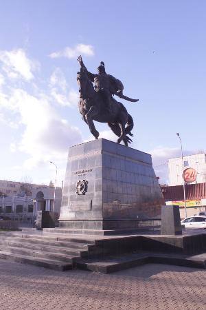 Monument to Bogenbai Batyr