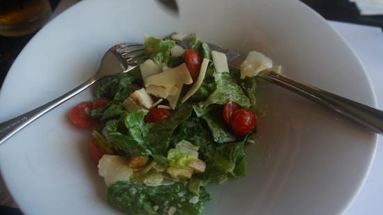 Senia Hotel: Ужин: салат Цезарь
