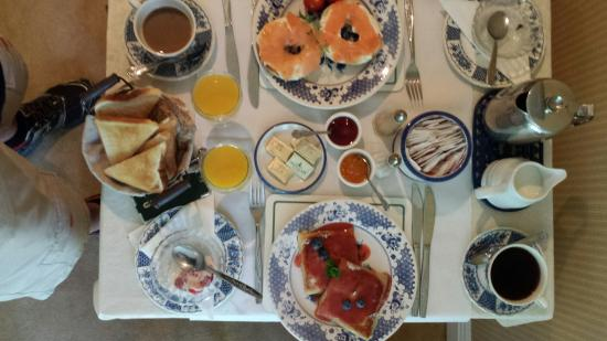 Mena House B&B: August 2014, superb breakfast