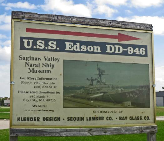 Bay City, MI: USS Edson Welcome