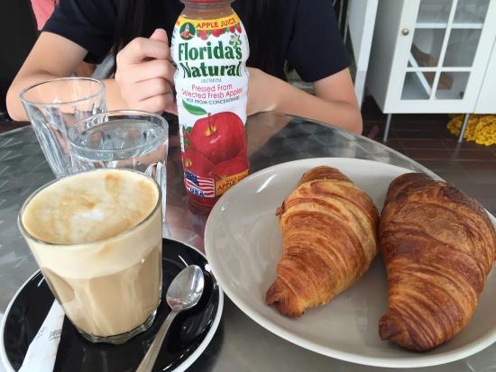 Simple breakfast place