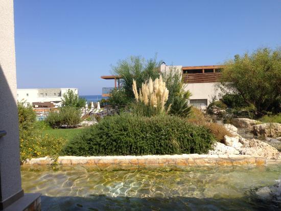 Sentido Port Royal Villas & Spa: Utsikten från bordet i restaurangen till lunch