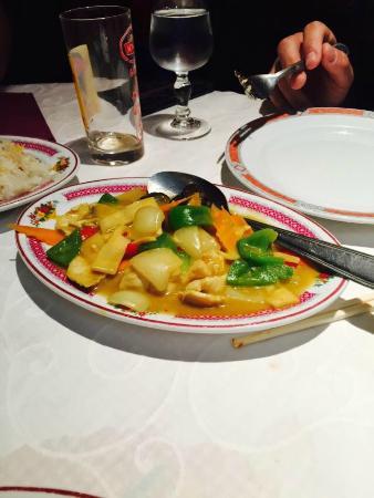 Palais de Chine: Poulet curry