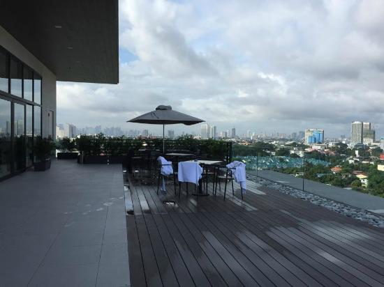 Meranti Hotel A Very Nice View On Top Of The
