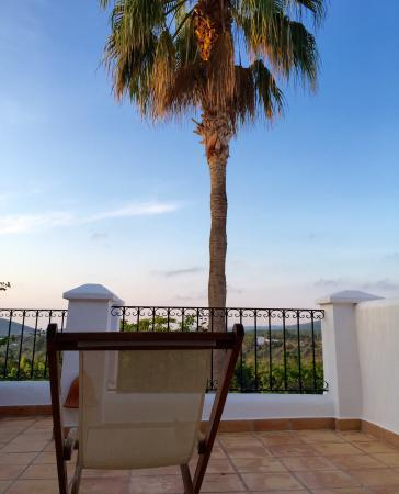 Agroturismo Can Planells : View from the room terrace