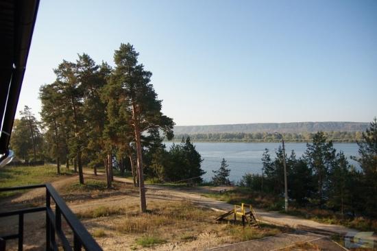 Zvenigovo, Rosja: Вид на волжские затоны