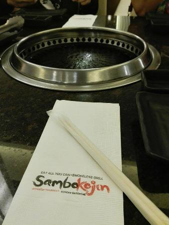 Sambo Kojin : Smokeless grill