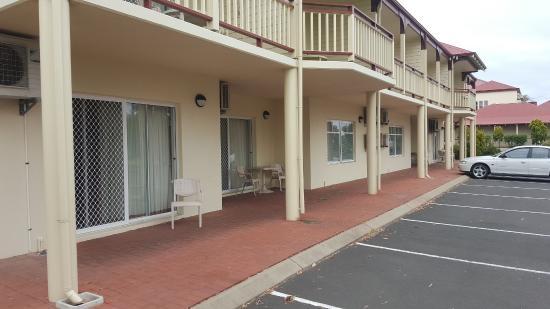 Sliding Door To Carpark No Key Picture Of Esplanade Hotel