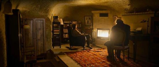 Monte Cappa Cave House: oturma salonu