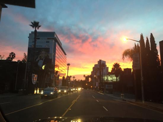 Sunrise over sunset blvd from the grafton picture of for The grafton