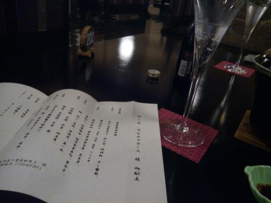 Wazanho: good service, got champagne for our honeymoon