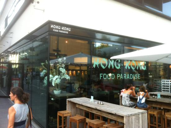 Hong Kong Food Paradise Aussenansicht Des Restaurants