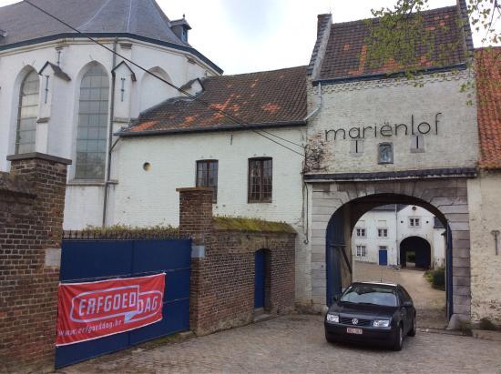 Borgloon, Belgia: Ingang klooster-/Erfgoedsite