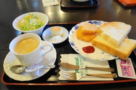 Michi-no-Eki - Pascal Kiyomi : モーニング洋食