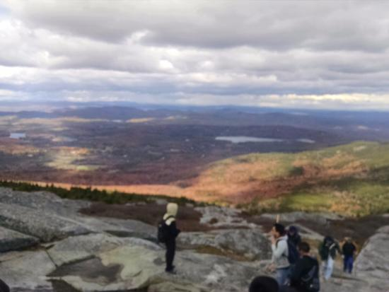 Jaffrey, NH: The view, spectacular foliage like the earth was on fire
