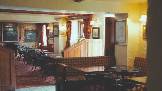 Chelmorton, UK: Dining area