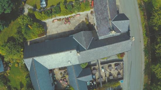 Chelmorton, UK: Aerial view