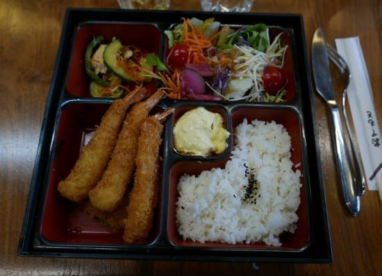 Carte Cafe Japonais Bordeaux.Cafe Japonais Beignet De Crevettes En Bento Photo De