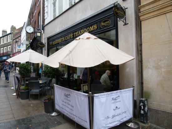 Harriet Tea Rooms Cambridge