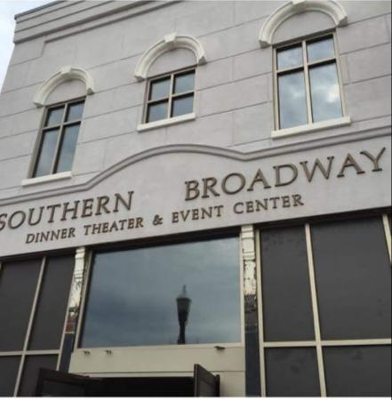 Southern Broadway Dinner Theater: 104 North Main Street, Downtown, Enterprise. This is the new location.