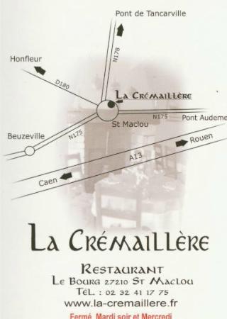Saint-Maclou, Francia: carte