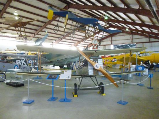 BC Aviation Museum: Inside the hangar