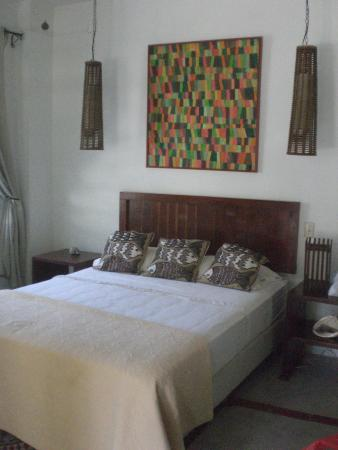 Togo Bed and Breakfast : Zimmer Innenansicht