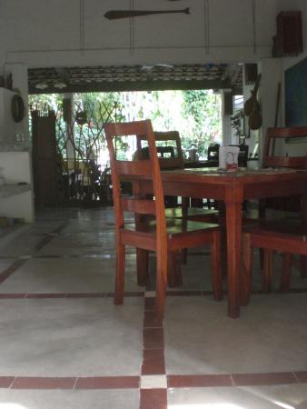 Togo Bed and Breakfast : Frühstücksraum