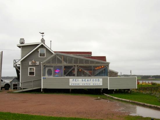 Rustico, Canadá: The Blue Mussel Cafe