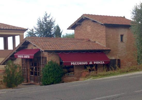 Pienza, Italia: Vista do local
