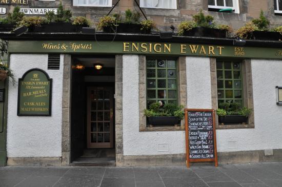 Exterior of the Ensign Ewart