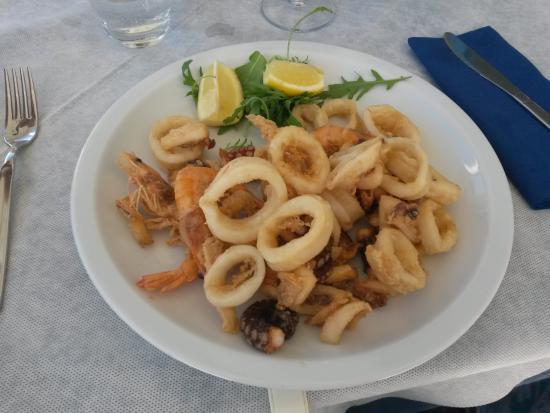 Torre Pali, Italia: Fritto misto