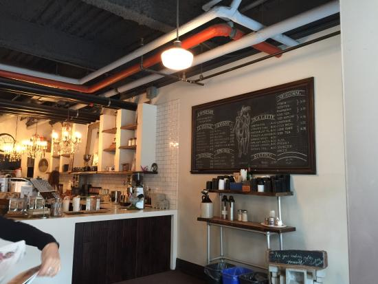 Photo of Restaurant Rooster Coffee Company at 343 King St E, Toronto M5A 1L1, Canada