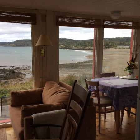 Grand Manan, Canadá: Seaside - View from Living/Dining/Kitchen