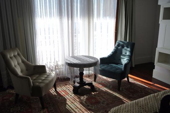 Ada Hotel Istanbul: bedroom seating area