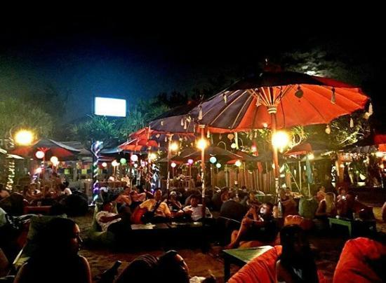 Blue  Beach Bar And Restaurant Seminyak Beach Bar