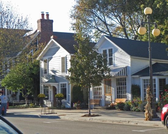 Harbor Springs, ميتشجان: Street Shops