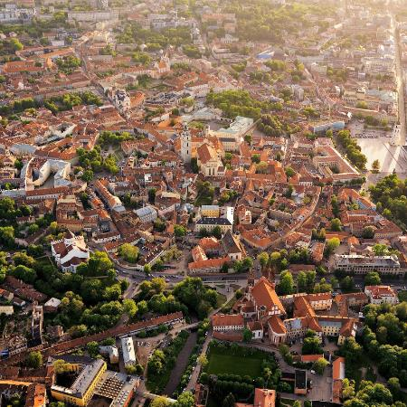 Историческая часть Вильнюса