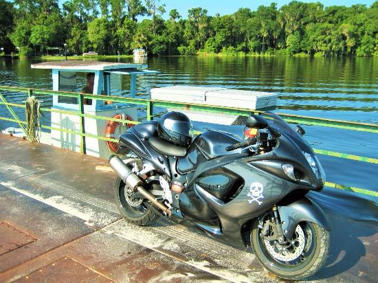Umatilla, FL: Fort Gates Ferry across the St Johns