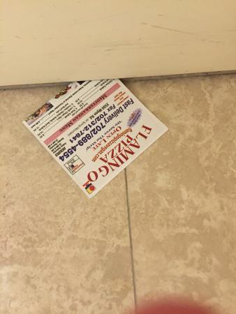 Monte Carlo Resort & Casino: Throughout the night people slip flyers under your door.