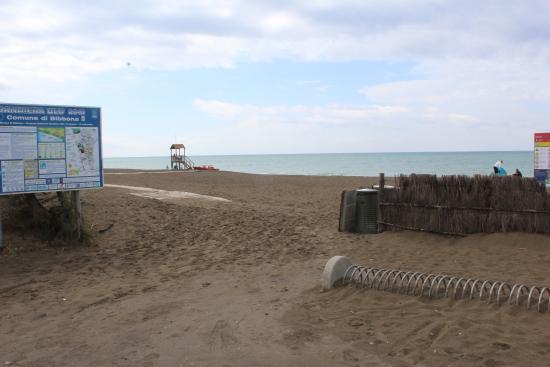 Hotel Riva dei Cavalleggeri: Plaża