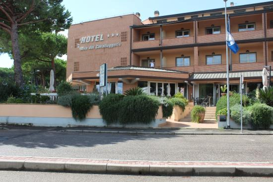 Hotel Riva dei Cavalleggeri: Widok na hotel